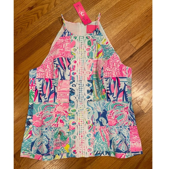 NWT Lilly Pulitzer Pearl Top